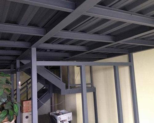 赣州钢结构阁楼安装
