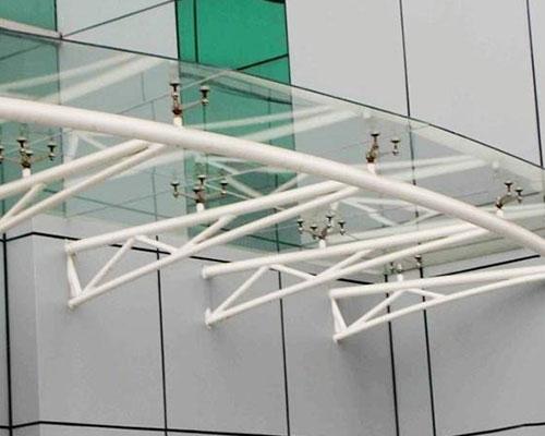 钢结构雨棚设计方案