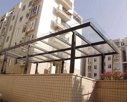 赣州钢结构雨棚设计