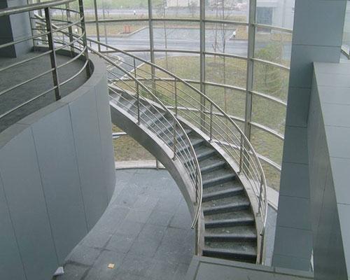 钢结构旋转楼梯